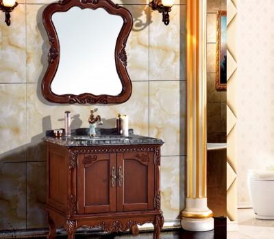 橡木浴室柜1017型号